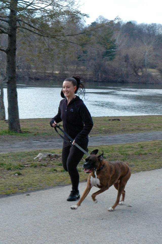 With a run, your dog will be happier and healthier.